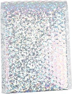 CHEN HAO Farbige Luftpolster-Aufbewahrungsbeutel, selbstversiegelnde Luftpolsterfolie, widerstandsfähig, wasserabweisend, 10 Stück