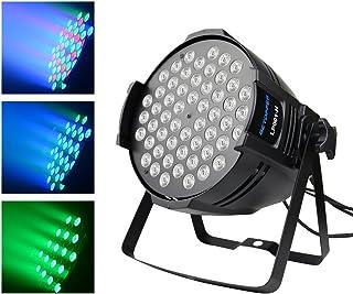 e1105dc8d Luces dmx Karaoke profesional Iluminacion dj 54 * 3 RGBW LED Luces dj Luces  discoteca led