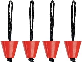 Amarine Made Pack of 4 Universal Kayak Scupper Plug Kit,Fit: Hobie Kayaks, Native Kayaks, Wilderness Systems Kayaks, Feelfree Kayaks, Perception Kayaks, Old Town Kayaks, Plus All Other Major Brands
