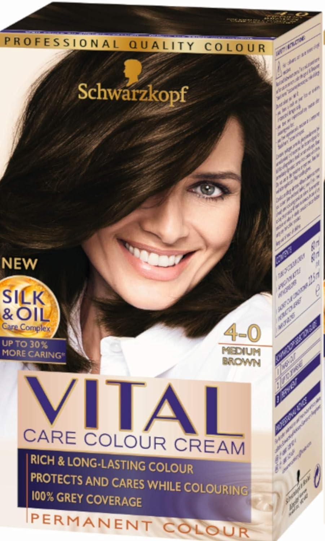 Tinte para cabello Vital Color de Schwarzkopf, pack de 3 ...