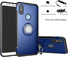 Xiaomi Mi A2 / Mi 6X case,Labanema Hybrid Dual Layer 360 Degree Rotation Ring Holder Kickstand Armor Slim Protective Cover...