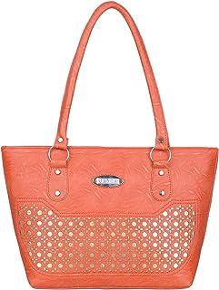 Janta PU Leather Women Shoulder Bag (Orange-3204)