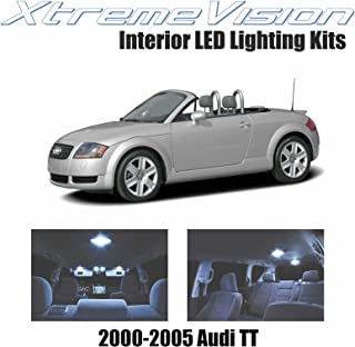 XtremeVision LED for Audi TT 2000-2005 (8 Pieces) Cool White Premium Interior LED Kit Package + Installation Tool