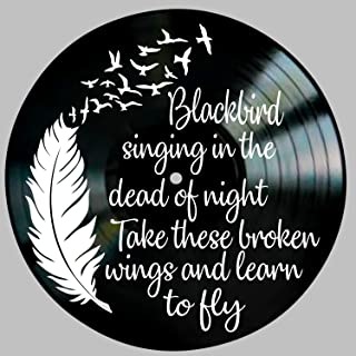 Best beatles blackbird wall art Reviews