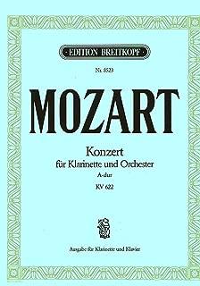MOZART - Concierto para Clarinete (K.622) para Clarinete en La y Piano (Meyer/Wehle)