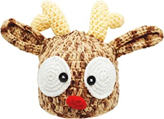 Best crochet baby reindeer hat Reviews