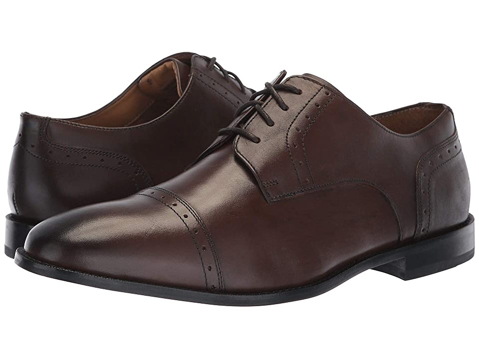 Florsheim Saluzzo Cap Toe Oxford (Dark Brown) Men