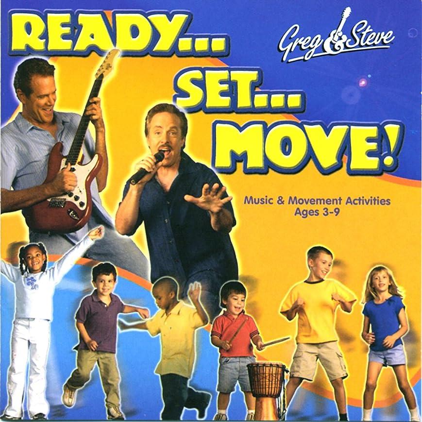 タクト疾患調子Greg & Steve Ready Set Move Cd