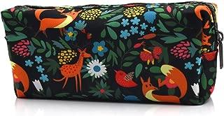Fox Pencil Case Fabric Zipper Pouch Gift for Friends Red Fox Zipper Pouch