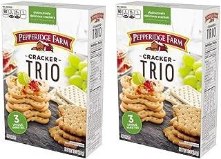 Pepperidge Farm, Trio Cracker, 10 Ounce (2 Pack)