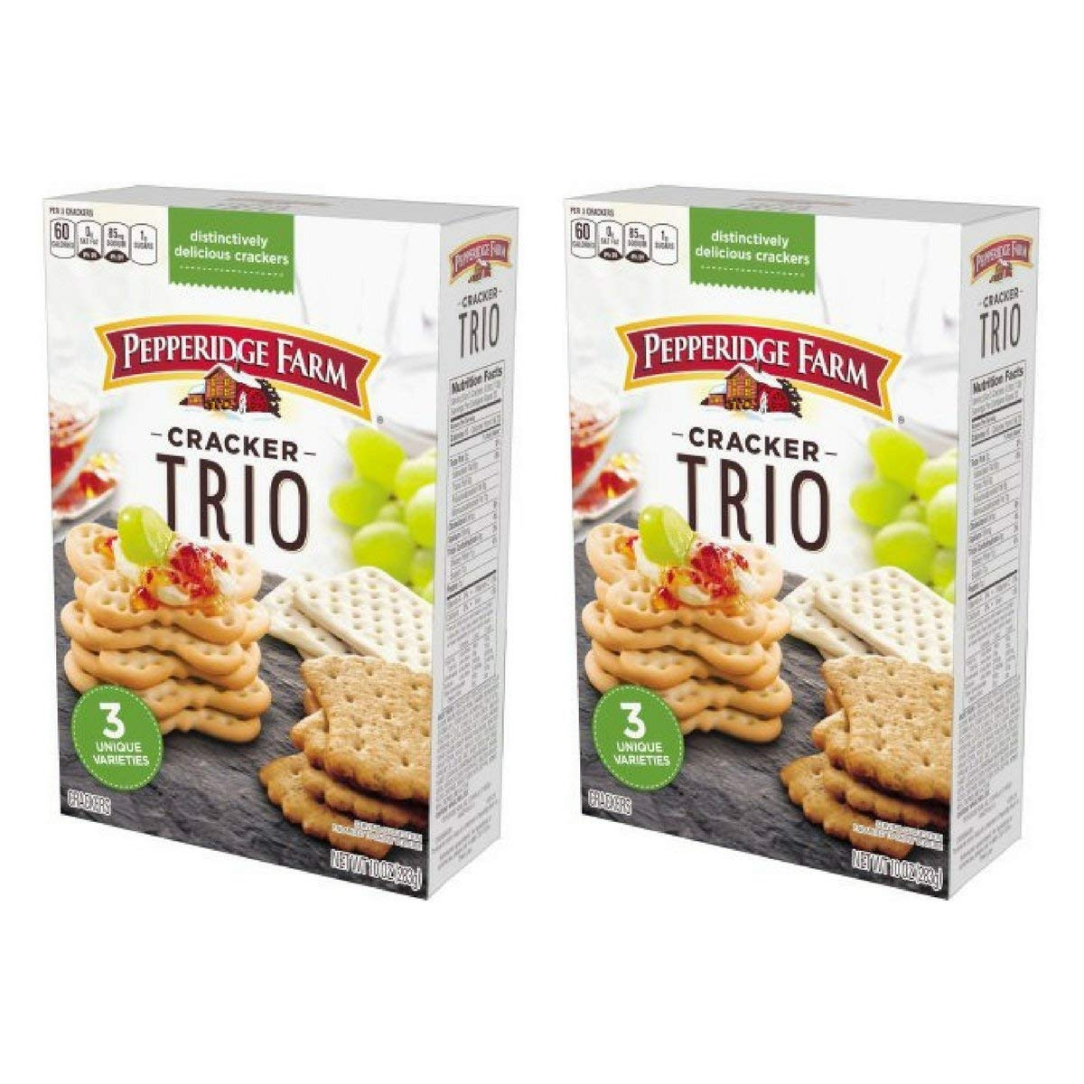 Pepperidge Farm Limited Special Price Trio Cracker 2 Bargain sale Pack 10 Ounce