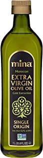 Mina Extra Virgin Olive Oil, Single Origin, Cold Extracted, Moroccan Olive Oil High in Polyphenols, November 2020 Harvest...