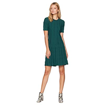CATHERINE Catherine Malandrino Short Sleeve Sweater Dress (June Bug) Women
