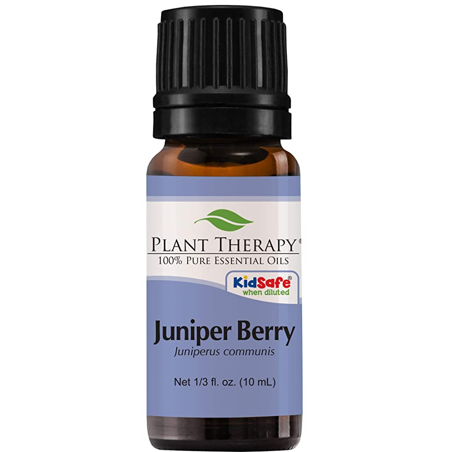 スライム持続的トークンPlant Therapy Juniper Berry Essential Oil. 100% Pure, Undiluted, Therapeutic Grade. 10 ml (1/3 oz).