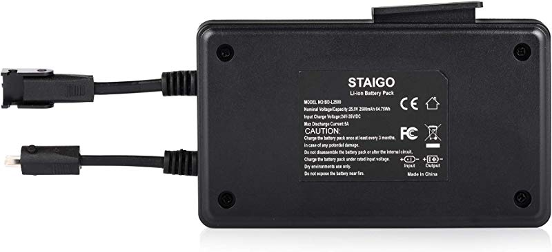 STAIGO Battery For Power Recliner Power Supply Reclining Sofa Lift Chair Lazy Boy Recliners Wireless Battery Pack For Electric Motion Furniture For Okin Limoss Lazboy Berkline Med 25 9V 2500mAh