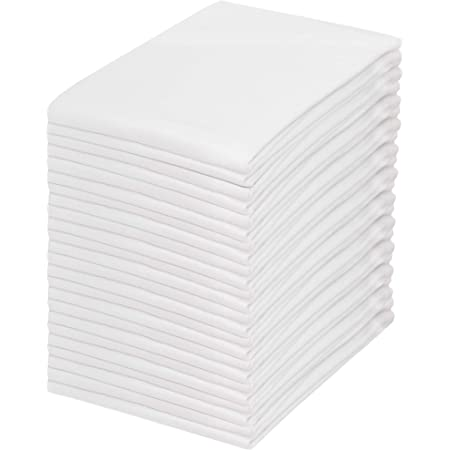Amazon Com My Drap Basics Cotton Cocktail Napkin 50 Per Roll Cream 4 3 X 4 3 Inch Kitchen Dining