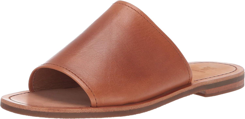 Frye Womens Robin Slide Flat Sandal