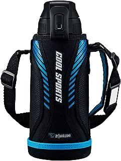 ZOJIRUSHI 象印 水瓶 直饮 运动款式 不锈钢保冷瓶 SD-FA 蓝黑色 0.8L SD-FA08-BB