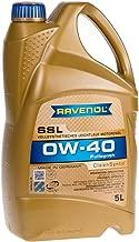 RAVENOL J1A1557 SSL 0W-40 Fully Synthetic Motor Oil (5 Liter)