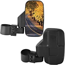 Wide Rear View Side Mirror for UTV (Pack of 2) for 1.75
