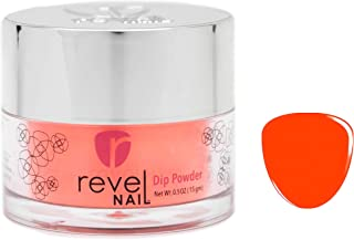 Revel Nail Dip Powder   for Manicures   Nail Polish Alternative   Non-Toxic & Odor-Free   Crack & Chip Resistant   Can Last Up to 8 Weeks   2 oz Jar   Neon Colors (Athena, 2oz)