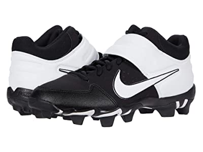 Nike Alpha Huarache Varsity Keystone Mid (Black/White) Men