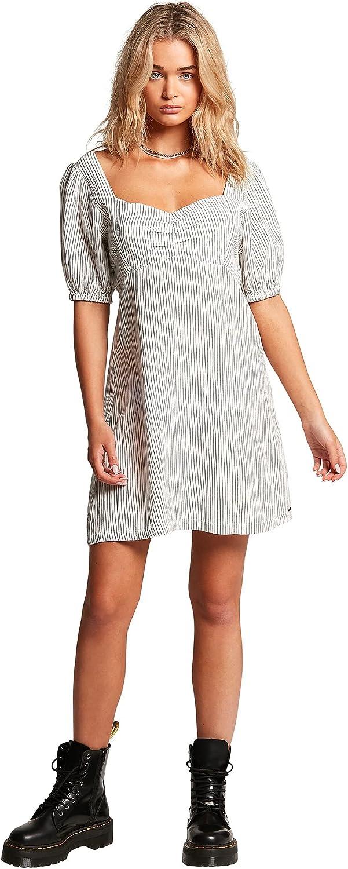 Volcom Women's Sunleashed Slim Fitting Mini Dress