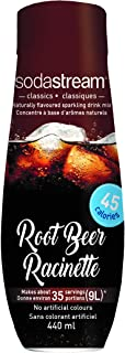 SodaStream Root Beer Syrup, 14.8 Fluid Ounce, Pack of 1