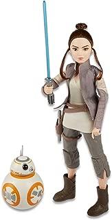 "Star Wars - Forces of Destiny - 11"" Rey of Jakku Interactive Adventure Figure & BB8 Set - Forces of Destiny"