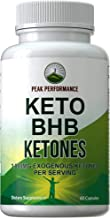 Keto BHB Exogenous Ketones Capsules by Peak Performance. Best Keto Diet Pills - 3000mg Unflavored Exogenous Ketone Salts Supplement. Best 3 Beta Hydroxybutyrate Forms for Maintaining Ketosis