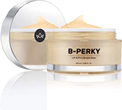 B-Perky - Firming Breast Mask by Maelys | Anti Sagging Décolleté Area Moisturizer Cream | Chest Tightening Treatment for Glowing Skin and a Naturally Fuller Look. 3.38 oz