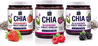 Standard Chia Spread by World of Chia - All Natural, Plant Based, Gluten Free, Vegan, Omega 3, Kosher, Made in USA, NON GM...
