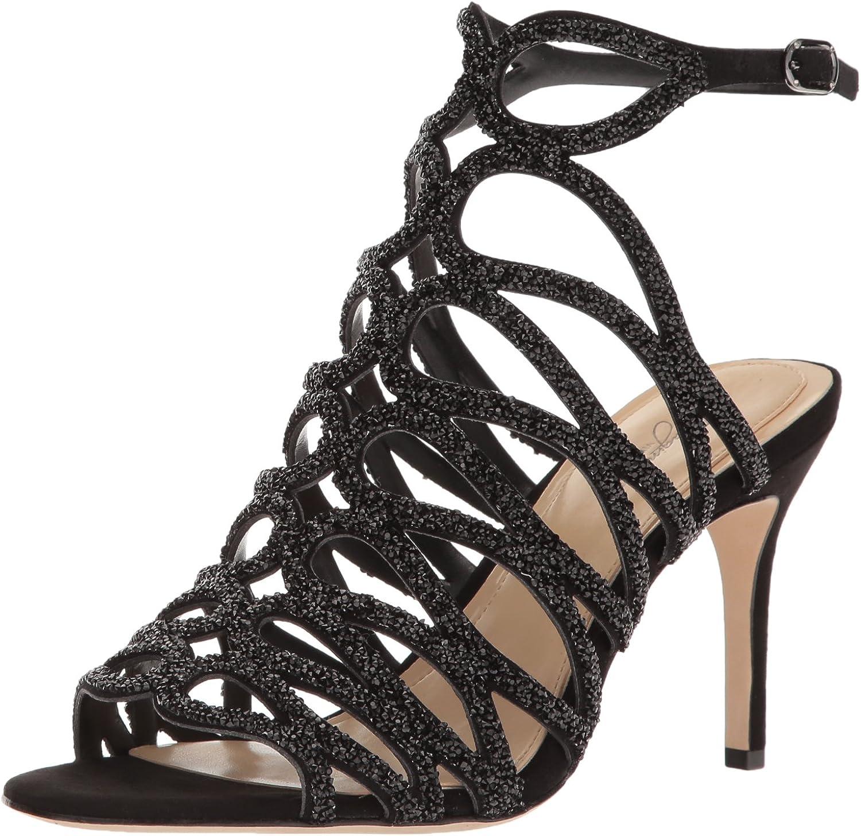 Imagine Vince Camuto Womens Plash Heeled Sandal