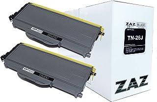 (2本セット) ZAZ TN-26J BROTHER ブラザー 互換 トナーカートリッジ レーザープリンタ 対応機種: HL-2170W HL-2140 TN-26J (汎用トナー ・ 互換トナー) ZAZオリジナル FFPパッケージ(26J-2)