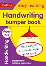 Handwriting Bumper Book Ages 7-9: Ideal for home learning (Collins Easy Learning KS2)