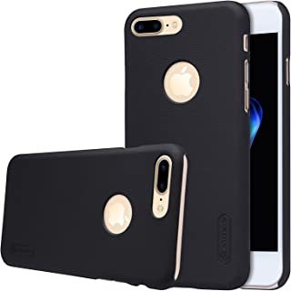 for iPhone 7 Plus iPhone 8 Plus Case, Nillkin Frosted Shield Hard Case Back Cover [with Screen Protector] for iPhone 7 Plus (Frosted Black)