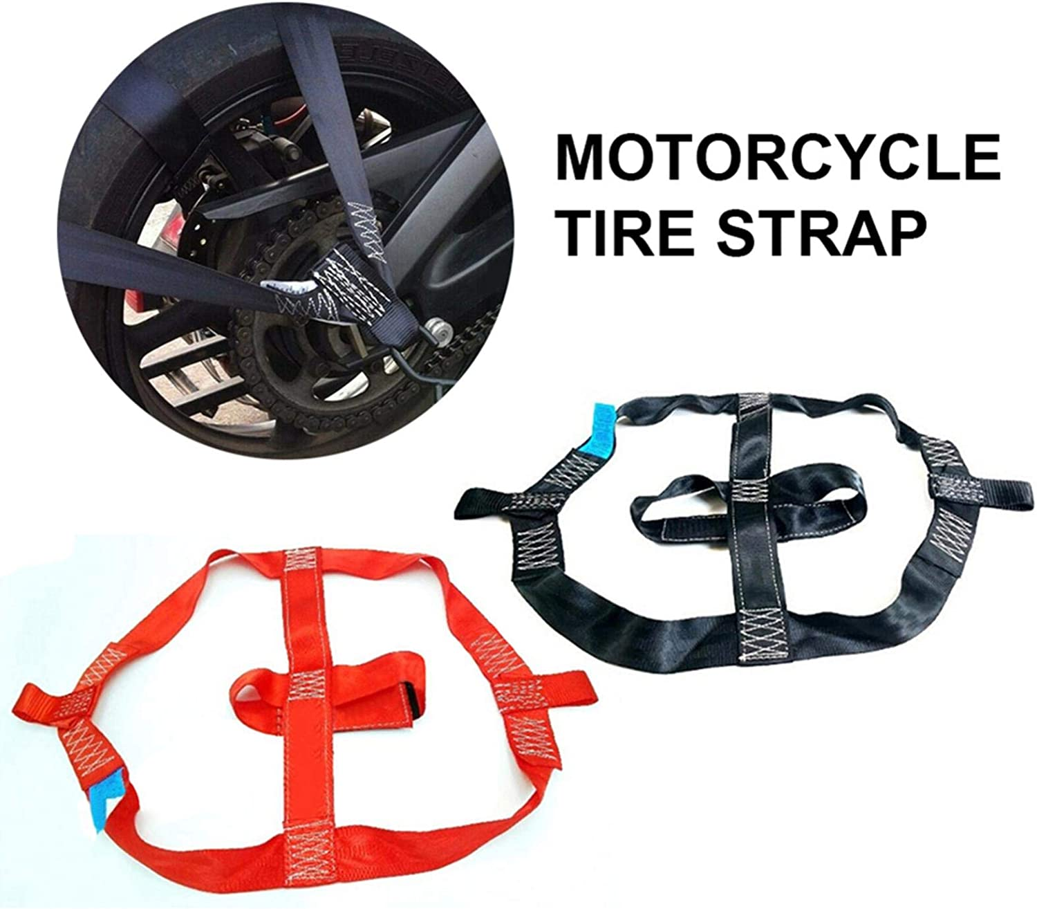 Per Newly Motorcycle Electric Vehicle Binding Strap Fixing Strap Fastening Strap Motorcycle Tire Strap Best Service