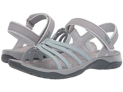 Teva Elzada Sandal Web (Gray Mist) Women