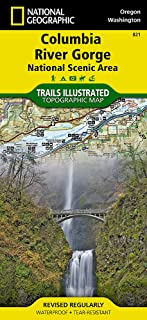 Columbia River Gorge National Scenic Area (National Geographic Trails Illustrated Map (821))