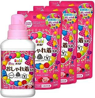 ボールド 液体 香りのおしゃれ着洗剤 本体 500g+詰め替え400g×3個