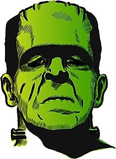 Frankenstein yellow green sticker decal 4