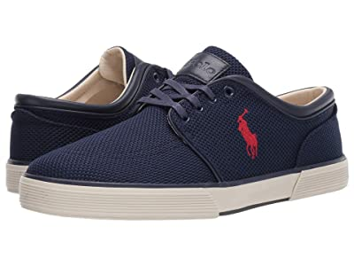 Polo Ralph Lauren Faxon Low (Newport Navy Knitted Mesh) Men