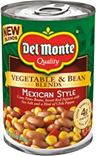 Del Monte Vegetable and Bean Mexican Style 14.5oz, pack of 1