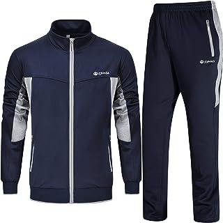 بدلة رياضية كاجوال بسحاب كامل للجري وصالة الالعاب الرياضية للرجال من ردروكو