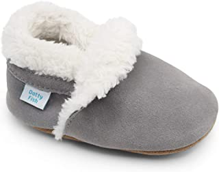 Dotty Fish Suede Slippers, Pantofole Unisex-Bambini