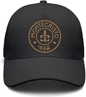 Men Women Adjustable Montecristo-Logo- Trucker Dad Baseball Hats Cap