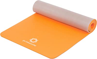 """Primasole Yoga Mat, Eco-Friendly Material 1/2"""" Thick Non-Slip Twin. Yoga mats for Yoga, Pilates, Fitness at Home & Gym. Exercise Mats for Women, Men. PSS91NH075A"""