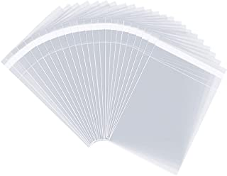 "Pack It Chic - 4"" X 6"" (1000 Pack) Clear Resealable Cellophane Cello Bags - Fits 4X6 Prints, Photos, A1 Cards, Envelopes - Self Seal (More Sizes Available)"