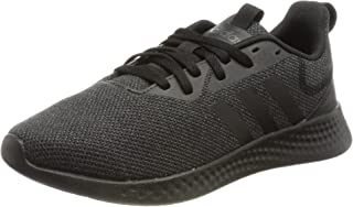 Adidas Puremotion Mesh Pull-Tab Side-Stripe Lace-Up Running Sneakers for Kids - Core Black, 35.5 EU