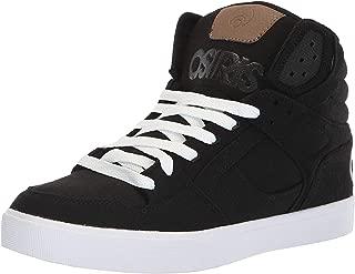 #Osiris Clone Black Wool Mens Skate Mid Trainers Boots